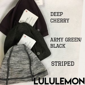 BN LULULEMON RUN IT OUT TOQUE NWT